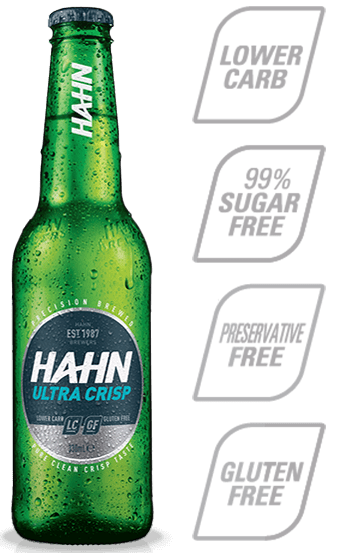 Hahn Ultra Crisp Lower Carb Beer Hahn Brewers